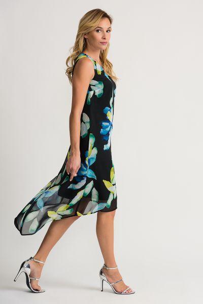 Joseph Ribkoff Black/Multi Dress Style 202028