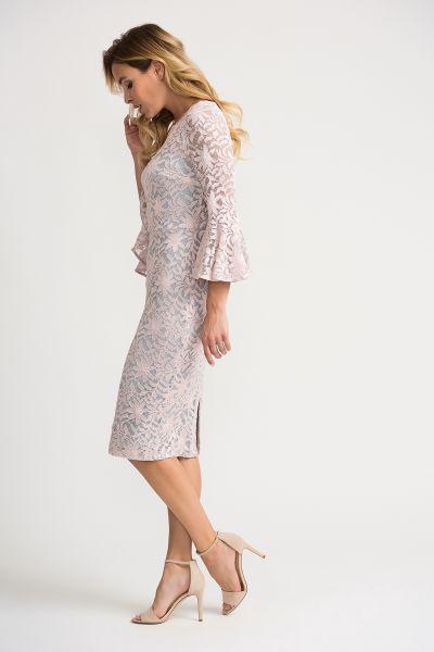 Joseph Ribkoff Rose Dress Style 202029