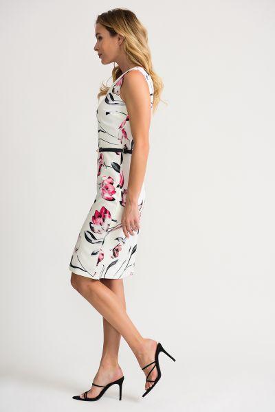 Joseph Ribkoff Off White/Multi Dress Style 202054