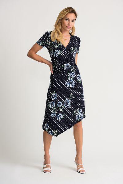 Joseph Ribkoff Midnight/Multi Dress Style 202056