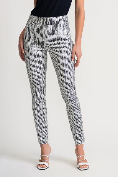 Joseph Ribkoff Vanilla/Indigo Pants Style 202058