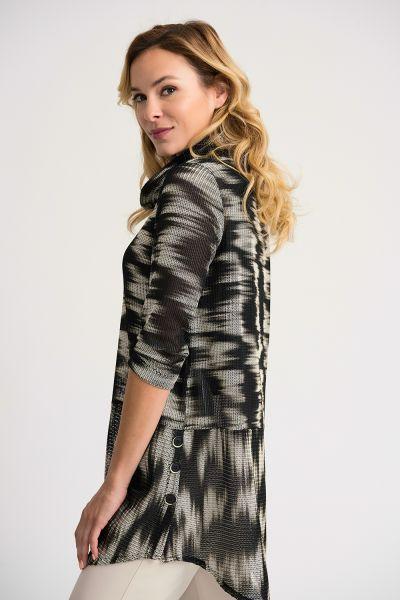 Joseph Ribkoff Black/Beige Jacket Style 202064