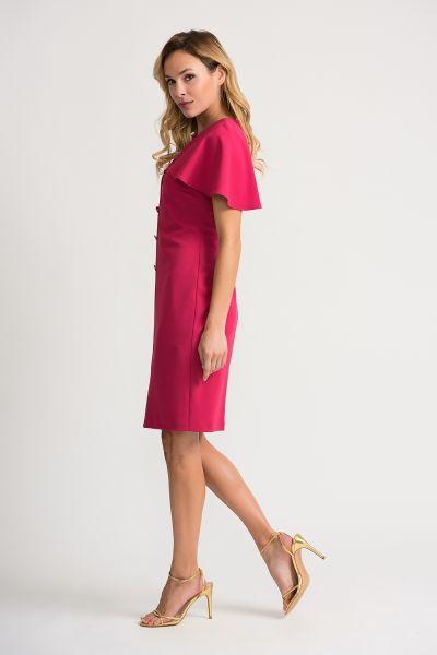 Joseph Ribkoff Cerise Dress Style 202077