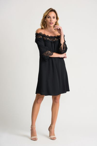 Joseph Ribkoff Black Dress Style 202091