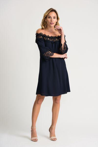 Joseph Ribkoff Midnight Dress Style 202091