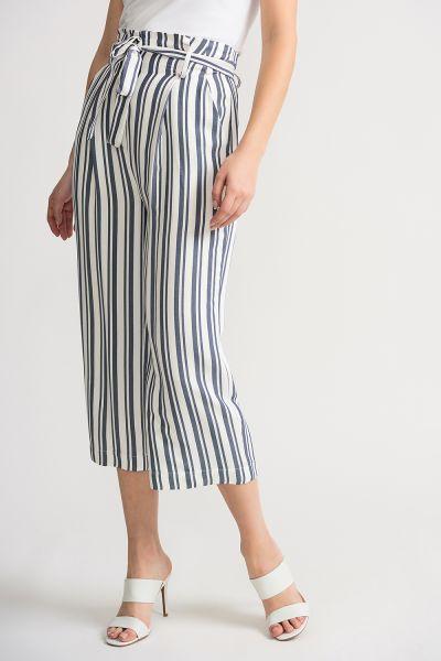 Joseph Ribkoff Off White/Blue Pants Style 202102