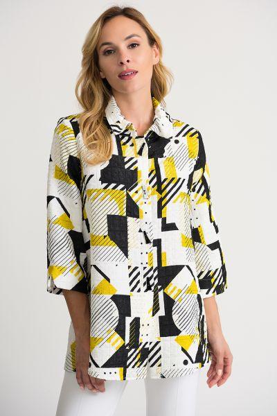 Joseph Ribkoff Vanilla/Black Jacket Style 202104