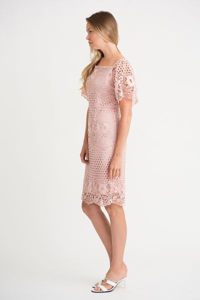 Joseph Ribkoff Rose Dress Style 202117