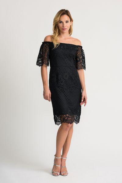 Joseph Ribkoff Black Dress Style 202117