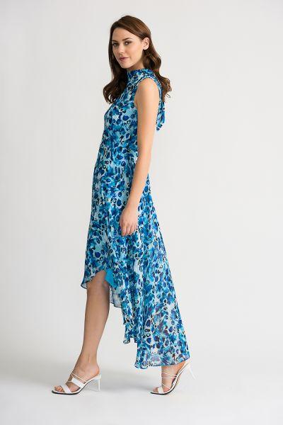 Joseph Ribkoff Blue/Multi Dress Style 202121