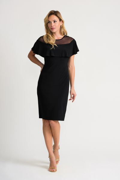 Joseph Ribkoff Black Dress Style 202125