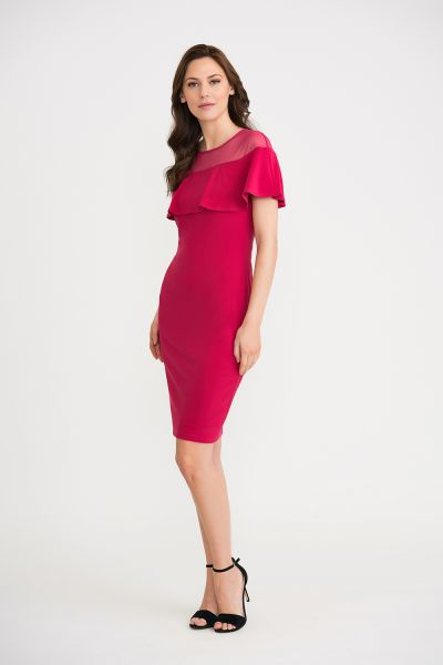 Joseph Ribkoff Cerise Dress Style 202125