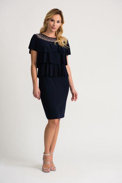 Joseph Ribkoff Midnight Dress Style 202153