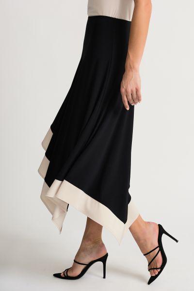Joseph Ribkoff Black/Champagne Skirt Style 202156