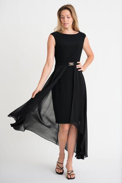 Joseph Ribkoff Black Dress Style 202159