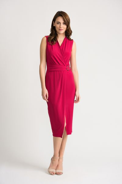 Joseph Ribkoff Cerise Dress Style 202160