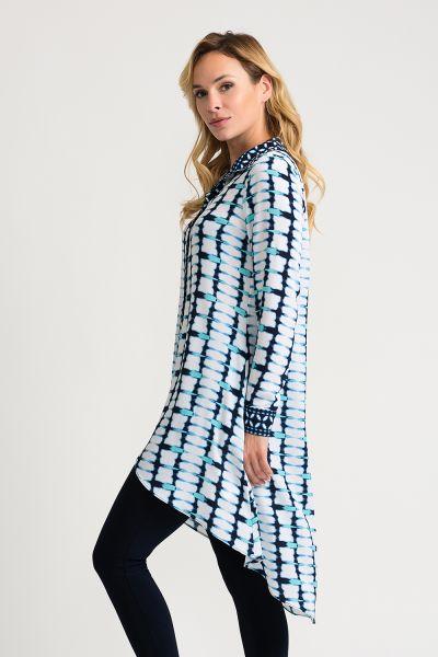 Joseph Ribkoff Vanilla/Midnight Jacket Style 202177