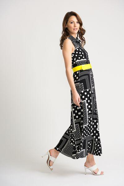 Joseph Ribkoff Black/Vanilla Dress Style 202210