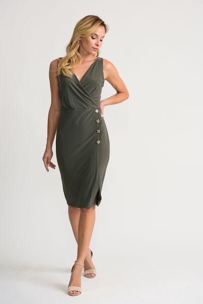 Joseph Ribkoff Avocado Dress Style 202222