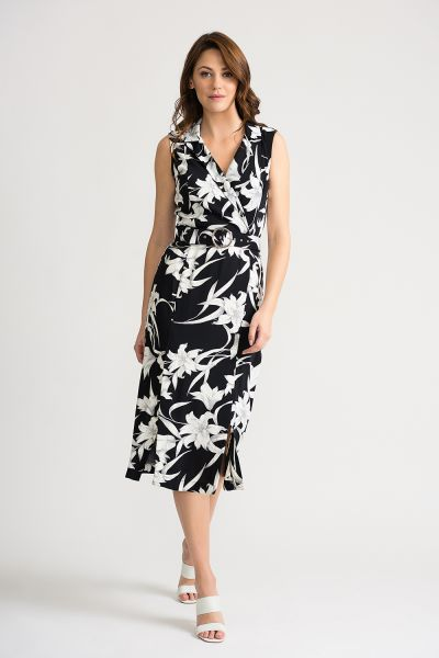 Joseph Ribkoff Black/White Dress Style 202234