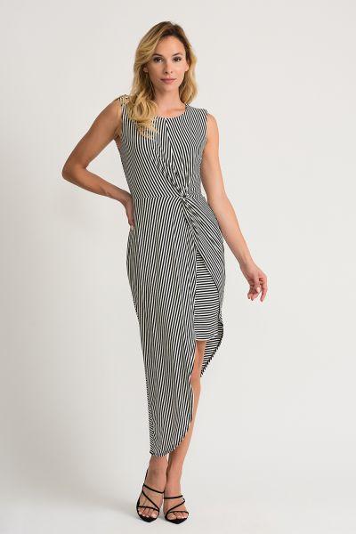 Joseph Ribkoff Black/White Dress Style 202255