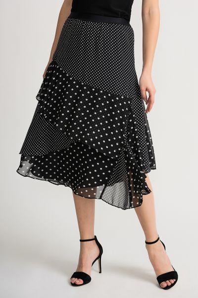 Joseph Ribkoff Black/White Skirt Style 202258