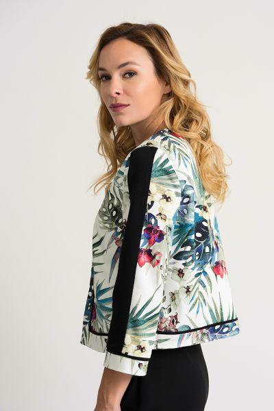 Joseph Ribkoff White/Multi Jacket Style 202259