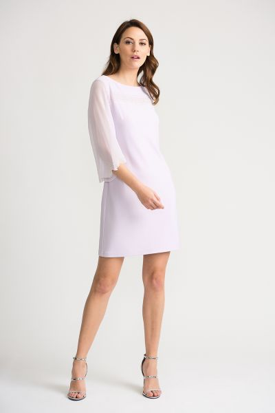 Joseph Ribkoff Lavender Dress Style 202266