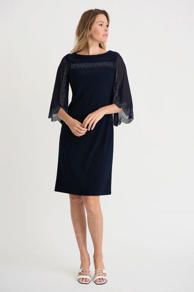 Joseph Ribkoff Midnight Dress Style 202266