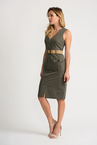 Joseph Ribkoff Avocado Dress Style 202273