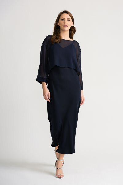 Joseph Ribkoff Midnight Dress Style 202278