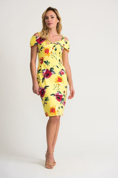 Joseph Ribkoff Multi Dress Style 202288