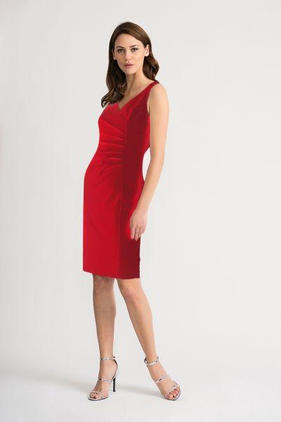 Joseph Ribkoff Red Dress Style 202303
