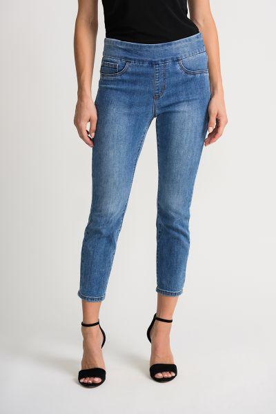 Joseph Ribkoff Denim Blue Pants Style 202338