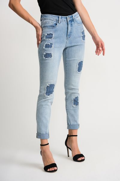 Joseph Ribkoff Light Blue Pants Style 202340
