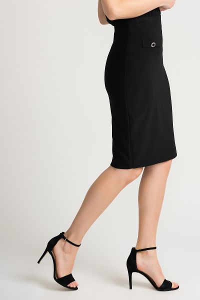 Joseph Ribkoff Black Skirt Style 202353