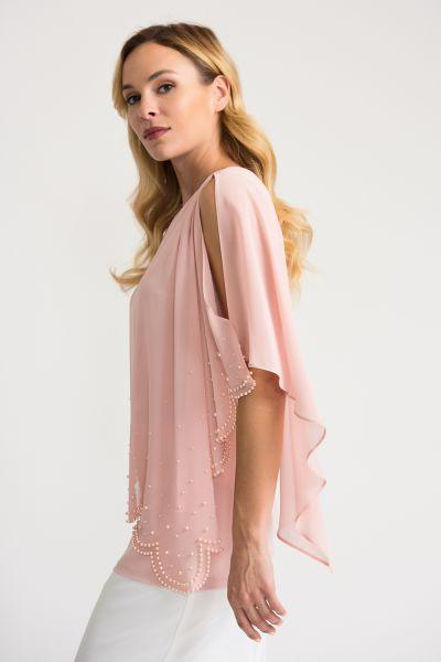 Joseph Ribkoff Rose Tunic Style 202362