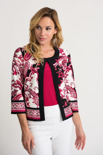 Joseph Ribkoff Vanilla/Multi Jacket Style 202367