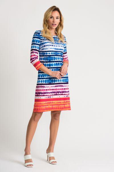 Joseph Ribkoff Multi Dress Style 202388