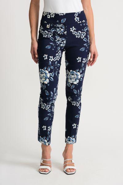 Joseph Ribkoff Midnight/Vanilla Pants Style 202395
