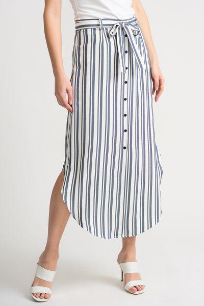 Joseph Ribkoff Off/White Blue Skirt Style 202396