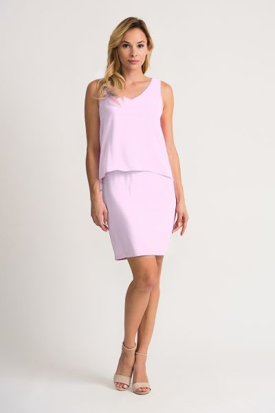 Joseph Ribkoff Lavender Dress Style 202398