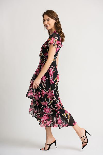 Joseph Ribkoff Black/Multi Dress Style 202429