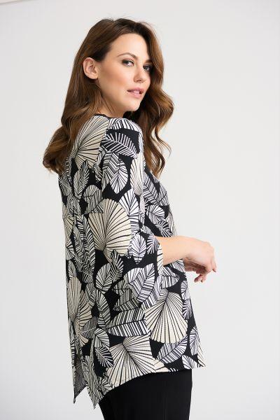 Joseph Ribkoff Black/Beige Tunic Style 202433
