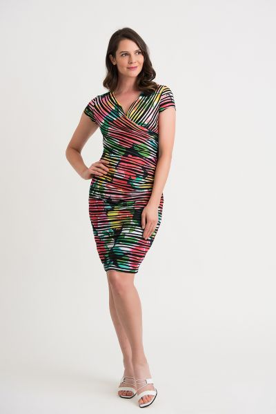 Joseph Ribkoff Multi Dress Style 202452
