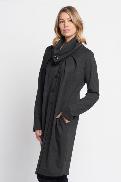 Joseph Ribkoff Charcoal Coat Style 203008