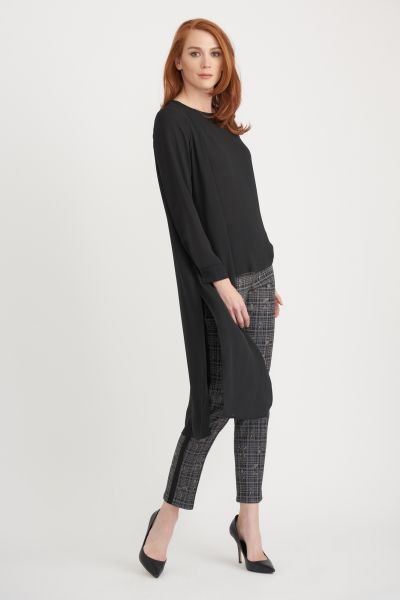Joseph Ribkoff Black Tunic Style 203017