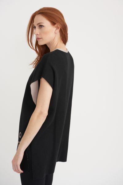 Joseph Ribkoff Black/Beige Cover Up Style 203035X
