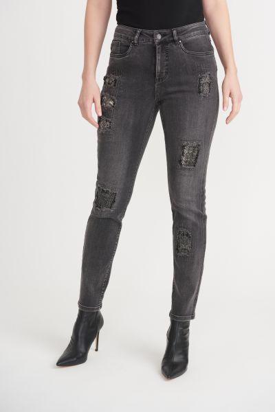 Joseph Ribkoff Grey Pants Style 203072