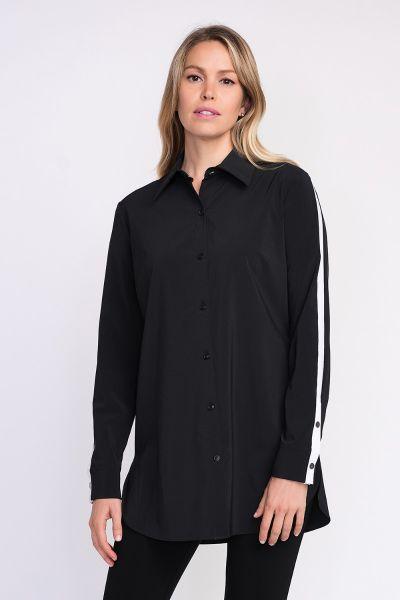 Joseph Ribkoff Black/White Blouse Style 203086